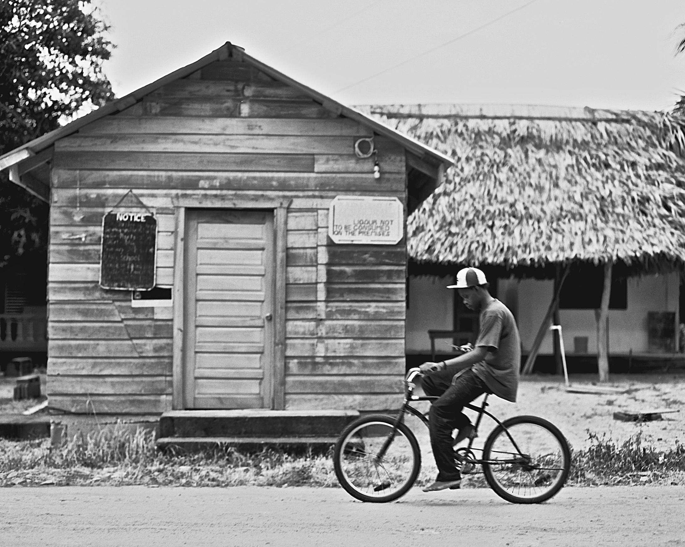 biking-in-hopkins-belize